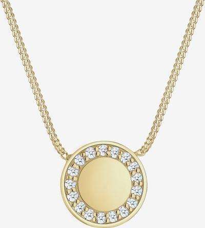 Diamore Halskette 'Kreis' in goldgelb / silber, Produktansicht