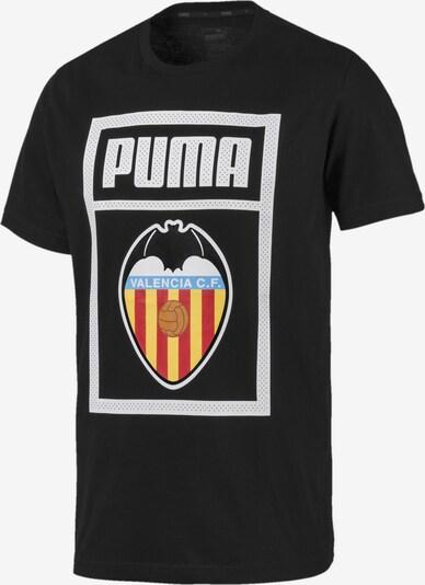 PUMA T-Shirt 'Valencia CF' in hellblau / gelb / hellgrau / schwarz, Produktansicht