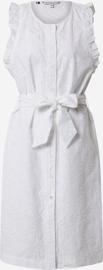 TOMMY HILFIGER Kleid 'RUBI EMB DRESS NS' in weiß, Produktansicht