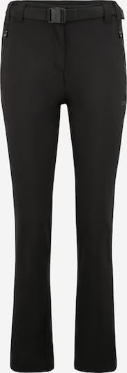 CMP Pantalon outdoor en noir, Vue avec produit