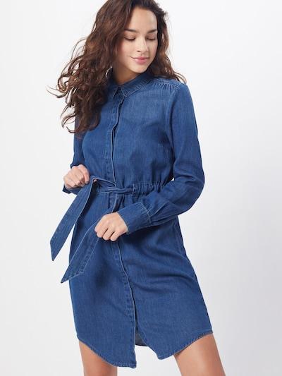 VERO MODA Kleid 'RACHEL' in blue denim, Modelansicht