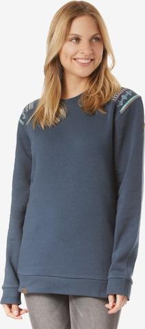 Lakeville Mountain Sweatshirt 'Luvua Ethno' in Blue