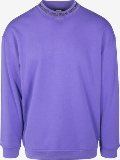 Urban Classics Sweater in dunkellila: Frontalansicht