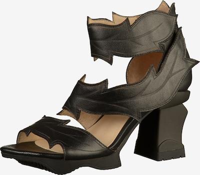 Laura Vita Sandalen in schwarz, Produktansicht