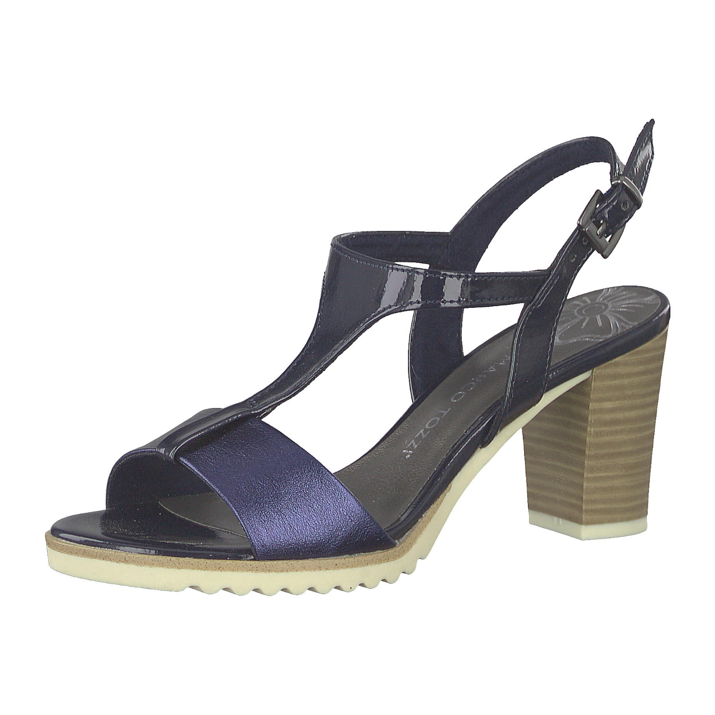 Sandaletten In Marco Marco BlauSchwarz Tozzi Tozzi Sandaletten 4L35jqARc