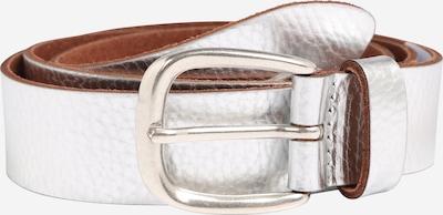 TOM TAILOR Ledergürtel in silber, Produktansicht