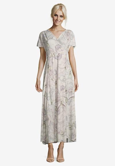 Cartoon Kleid in flieder / lavendel / beere / helllila, Modelansicht