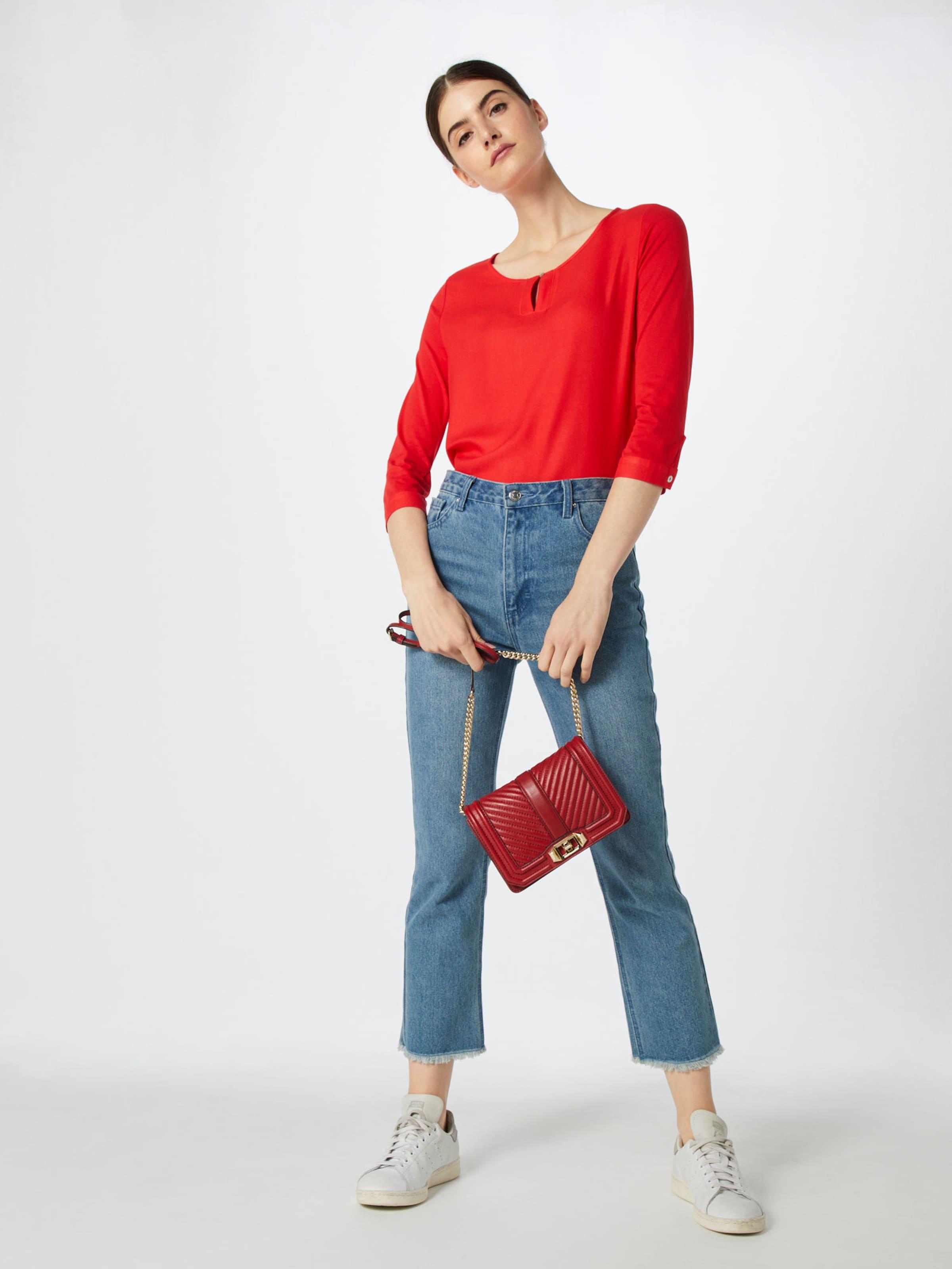 Tailor Feu shirt En T Rouge Tom IYvfm76gyb