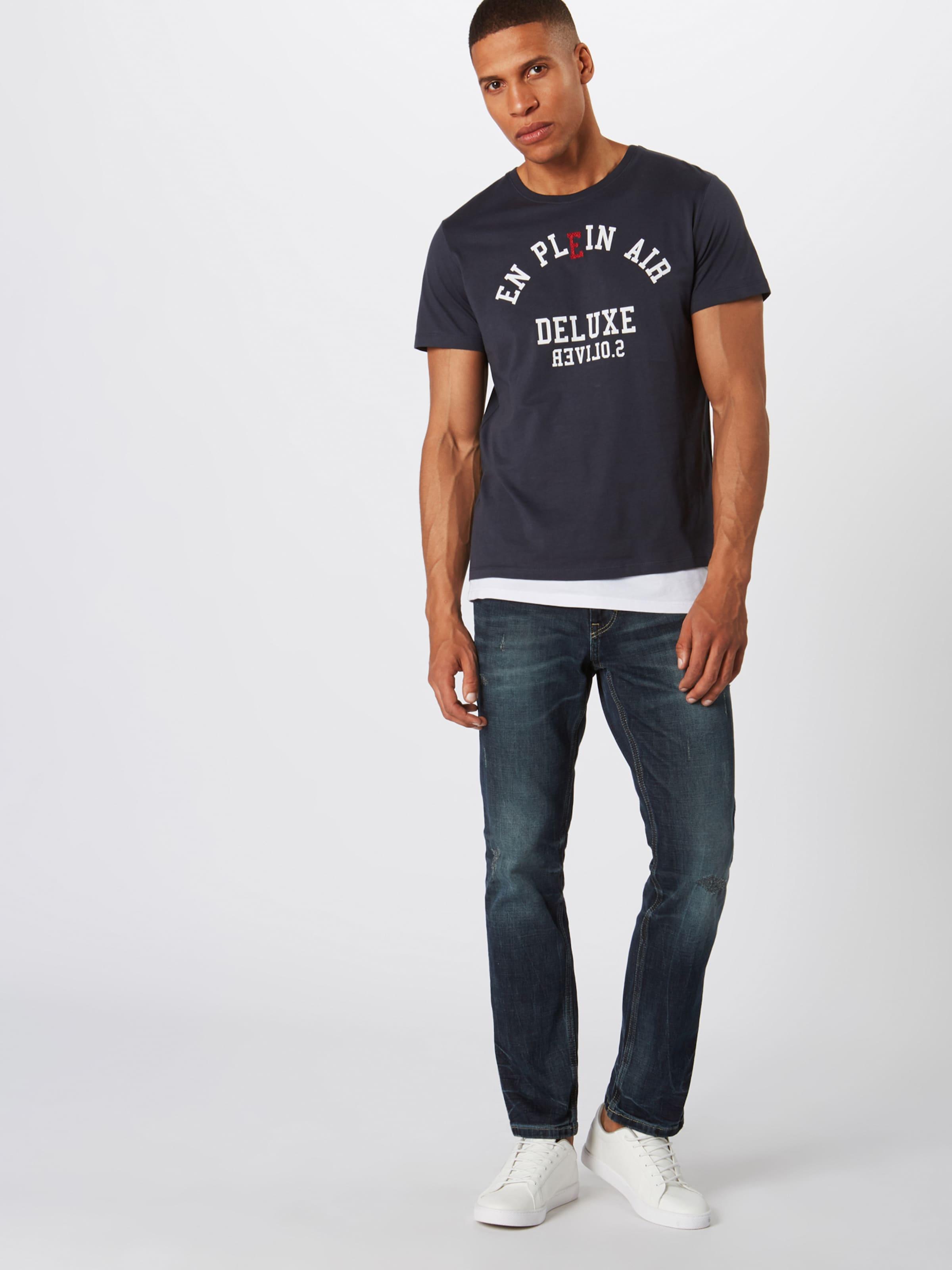 HerrenShirtsamp; 't shirt' S oliver Dunkelblau Red Label Polos In 54RjLA