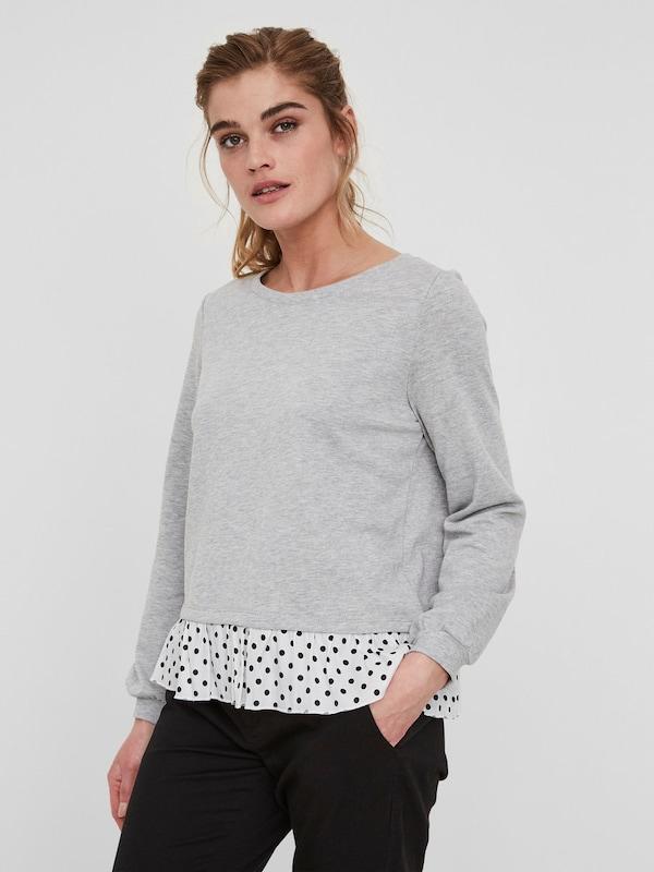 VERO MODA Langärmeliges Sweatshirt