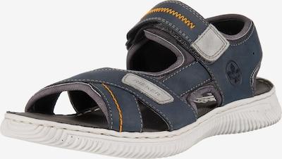 RIEKER Trekinga sandales tumši zils, Preces skats