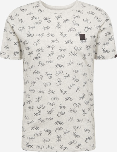 Ragwear Shirt 'ROMARE' in schwarz / weiß, Produktansicht