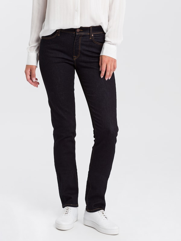 Cross Jeans Jeans 'Anya' in nachtblau, Modelansicht