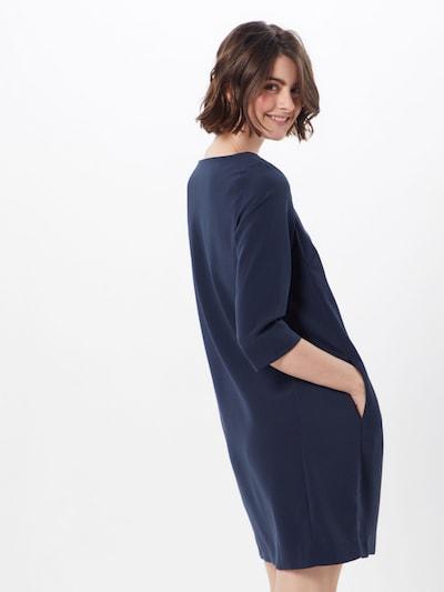 VILA Jurk 'Nathalia' in de kleur Donkerblauw: Achteraanzicht