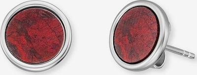 Engelsrufer Ohrstecker in rot / silber, Produktansicht
