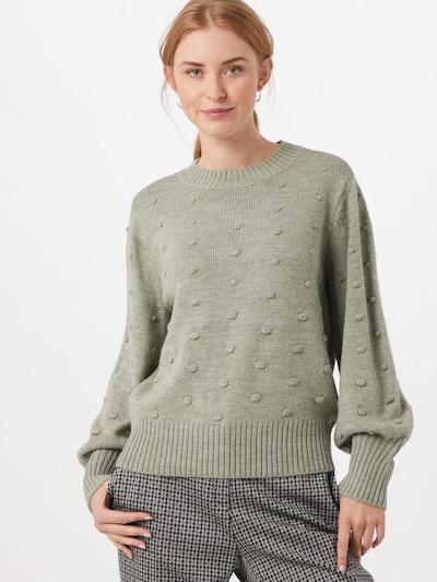 OBJECT Pullover 'Bouble' in grau, Modelansicht