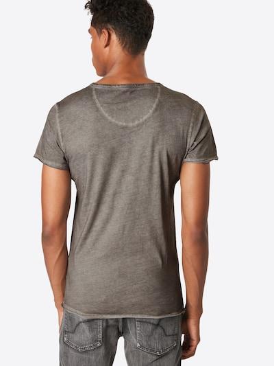 Key Largo T-Shirt 'MT INDIAN SKULL round' in silbergrau: Rückansicht