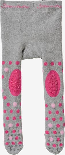 STERNTALER Strumpfhose 'Katze' in grau / pink / rosa, Produktansicht