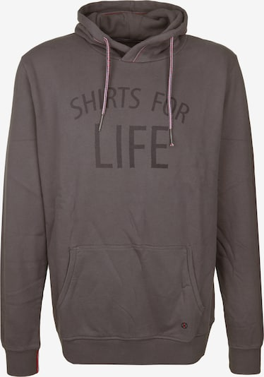 Shirts for Life Sweatshirt 'Alan' in taupe, Produktansicht
