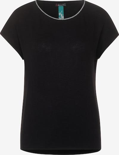 STREET ONE T-Shirt in schwarz: Frontalansicht