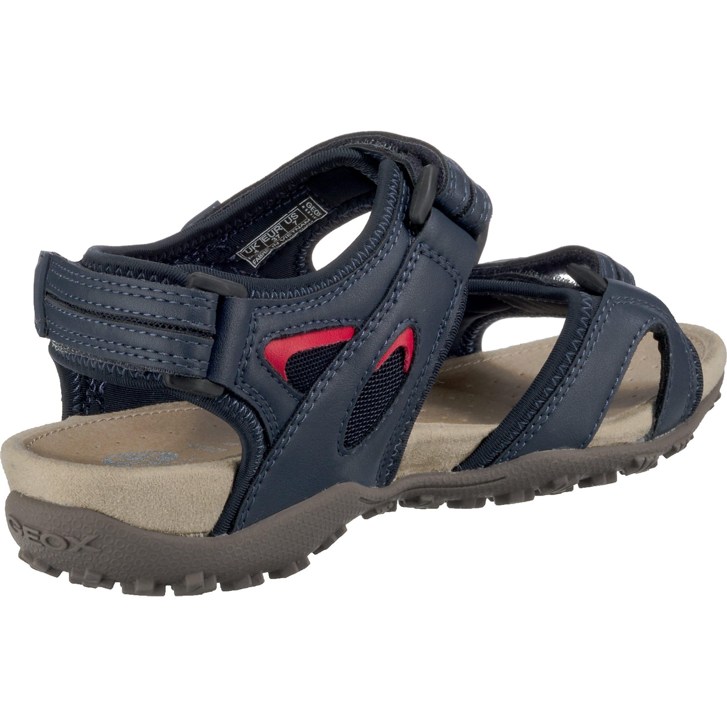 Strel' In Sandal NavyRot Sandale 'donna Geox 9I2WEDH
