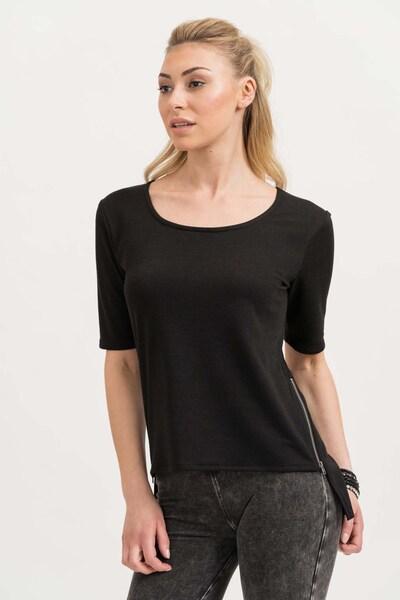 trueprodigy Sweatshirt 'Olivia' in schwarz: Frontalansicht