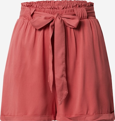 ONLY Hose 'ONLALMA LIFE VIS SHORTS SOLID WVN' in rot, Produktansicht
