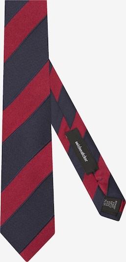 SEIDENSTICKER Krawatte 'Slim' in kobaltblau / rot, Produktansicht