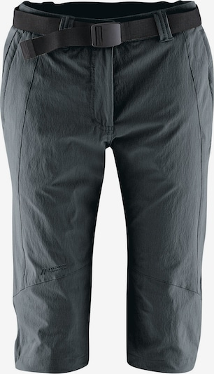 Maier Sports Short 'Da-Capri el. - Kluane' in schwarz, Produktansicht