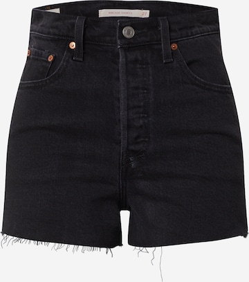LEVI'S Jeans 'RIBCAGE' i svart