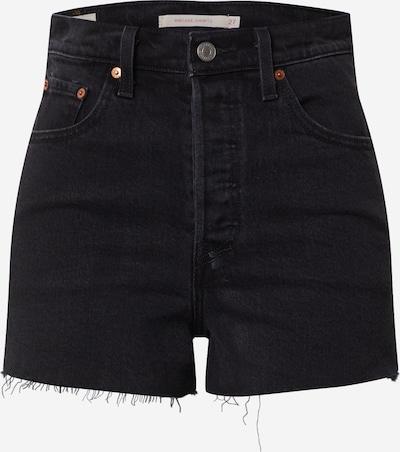 LEVI'S Shorts 'RIBCAGE' in schwarz, Produktansicht