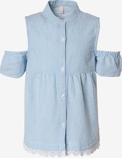 ESPRIT Bluse in hellblau / weiß, Produktansicht