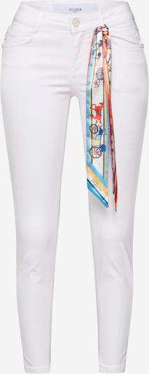Goldgarn Jeans 'JUNGBUSCH' in weiß, Produktansicht