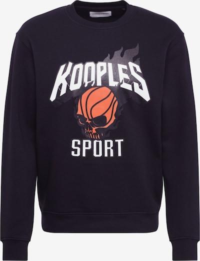 THE KOOPLES SPORT Sweatshirt in schwarz, Produktansicht
