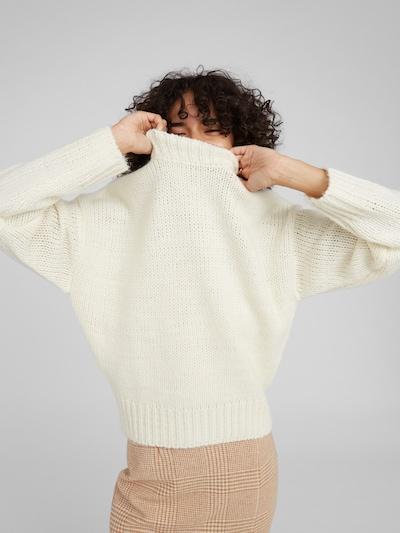 EDITED Pullover 'Egid' in weiß, Modelansicht