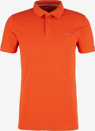 s.Oliver Poloshirt in orange, Produktansicht