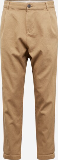 JACK & JONES Bandplooibroek 'JEFF ' in de kleur Beige, Productweergave