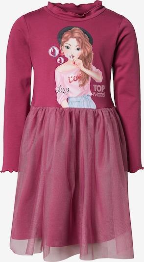 TOP MODEL Kleid in rosa, Produktansicht