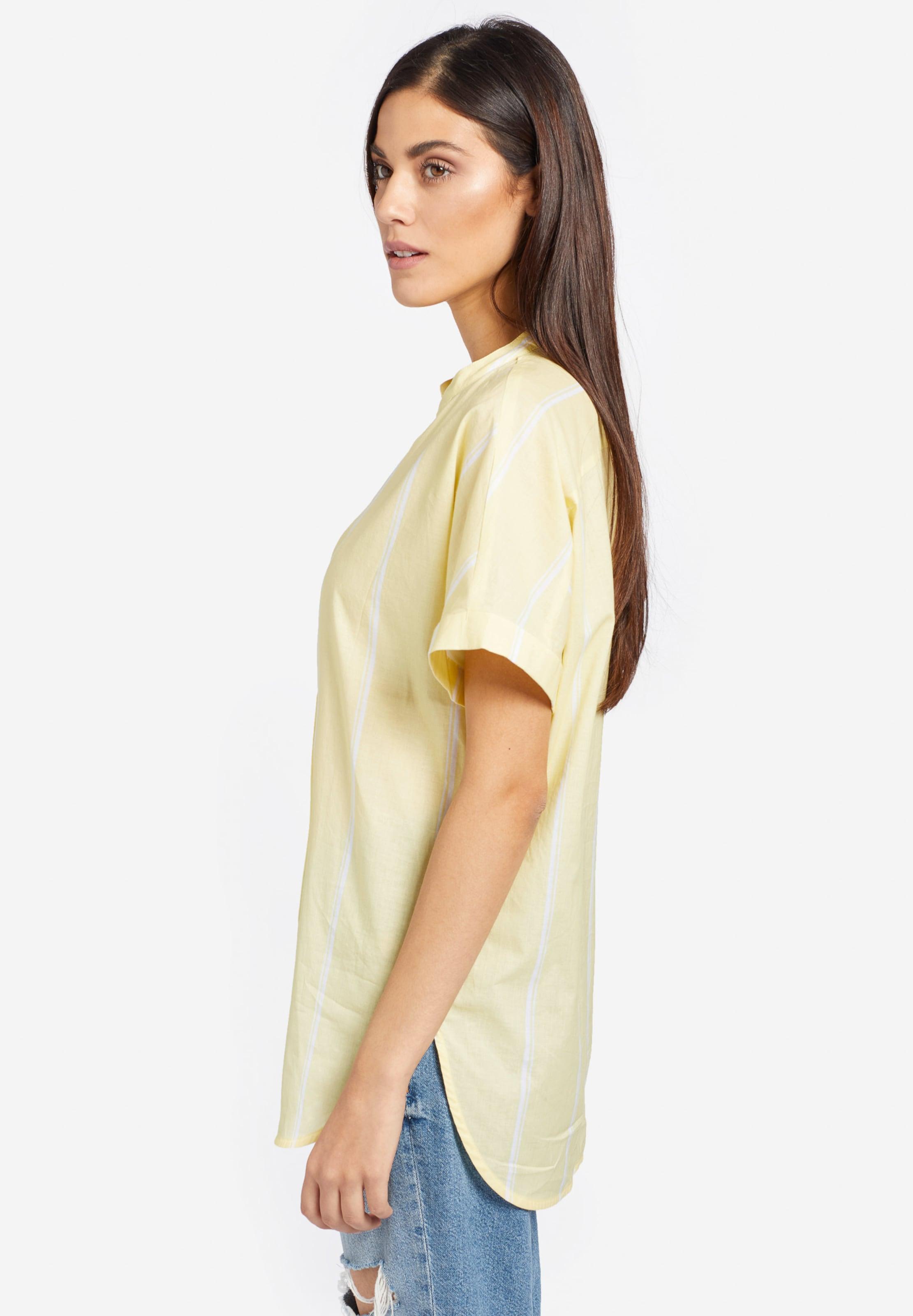 In HellgelbWeiß Khujo In 'nora' Khujo 'nora' Blusenshirt Blusenshirt tQCshdr
