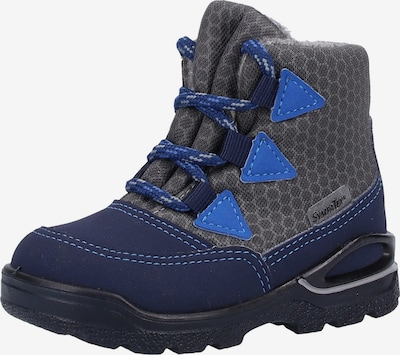 Pepino Stiefel in blau / dunkelblau / dunkelgrau, Produktansicht