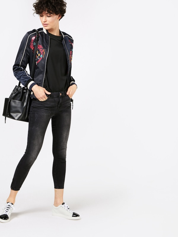 Zip' In 'ankle Jeans Black Review Zwart qRwgtP8HHx