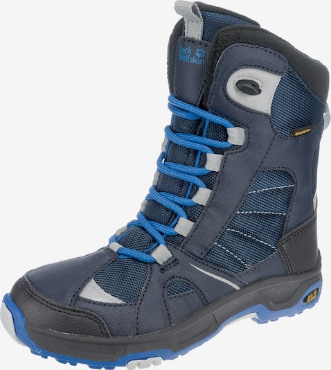 JACK WOLFSKIN Winterstiefel 'BOYS SNOW RIDE TEXAPORE' in navy, Produktansicht