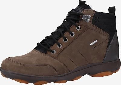 GEOX Sneakers hoog in de kleur Bruin / Zwart, Productweergave