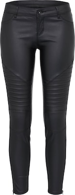 Review Broek 'COATED BIKER ZIP'