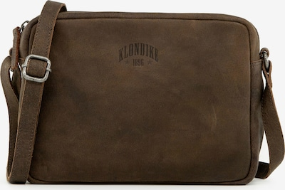 KLONDIKE 1896 Schultertasche 'Kisha' in braun, Produktansicht
