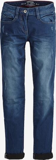 s.Oliver Junior Jeans in blue denim: Frontalansicht