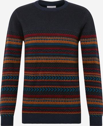 Pullover 'Jacquard knit' di Lindbergh in blu