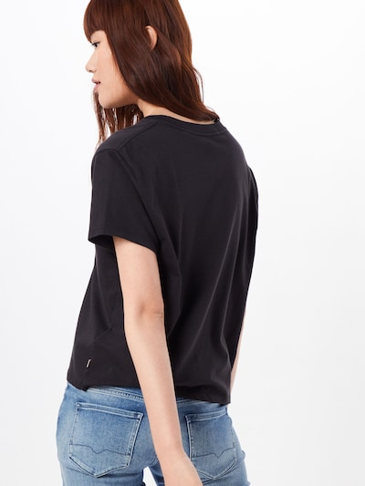LEVI'S T-shirt en noir: Vue de dos