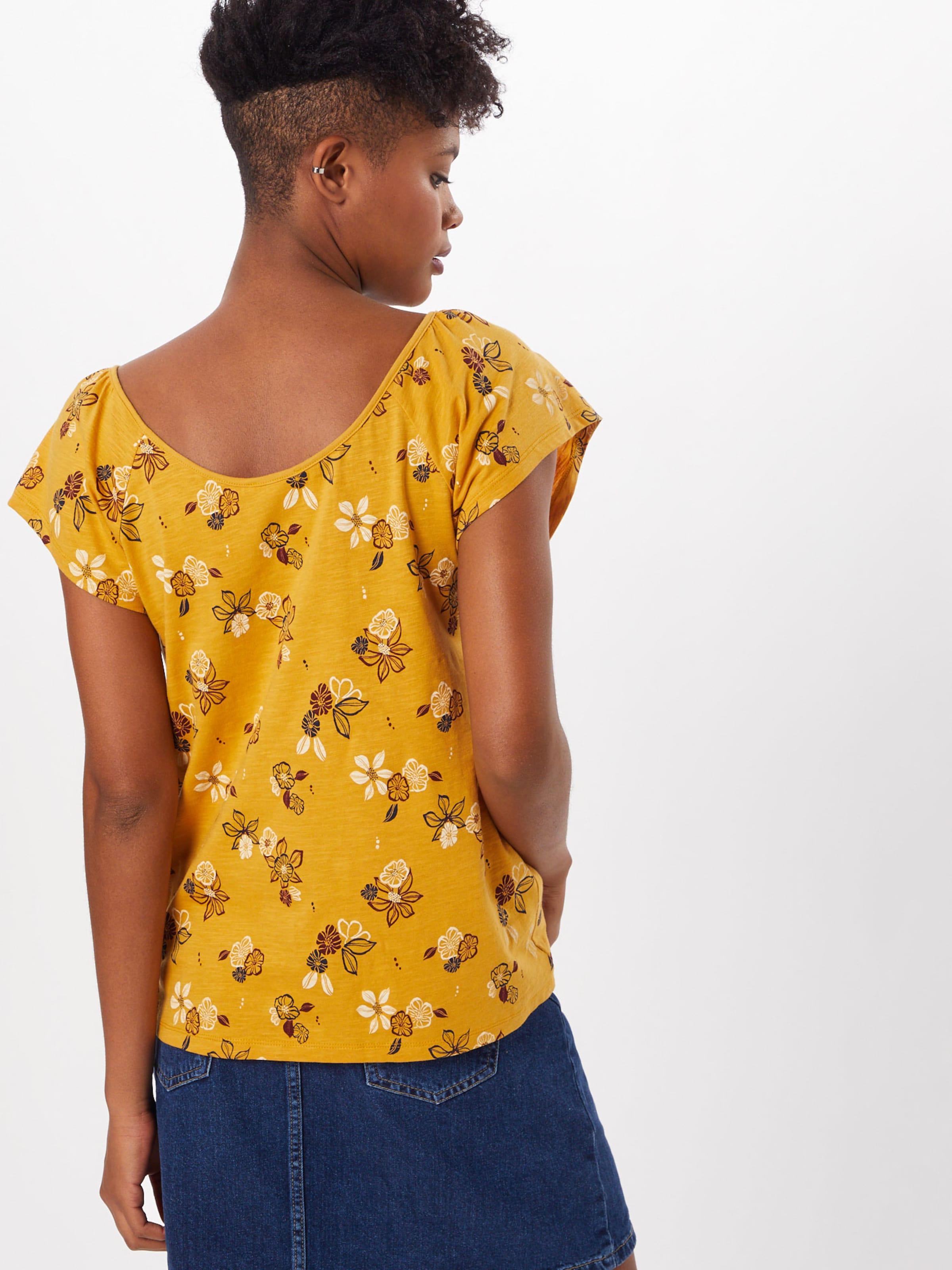 Tee' Aw Shirt 'aop In Goldgelb Esprit PTOZkliuwX