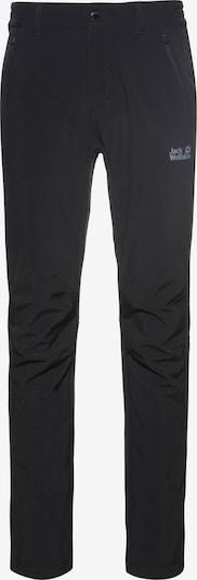 JACK WOLFSKIN Softshellhose 'Zenon' in schwarz, Produktansicht